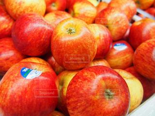 赤,フルーツ,果物,りんご