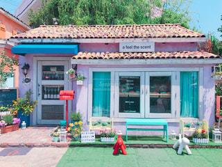 家の店の前の写真・画像素材[1184492]