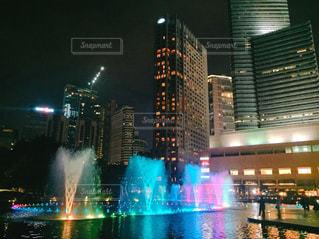 夜の街の写真・画像素材[1199595]