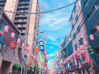 カラフルな凧市の写真・画像素材[1292041]