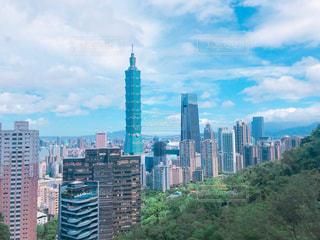 都市の高層ビルの写真・画像素材[1323242]