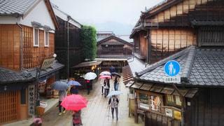 雨の日の写真・画像素材[813136]