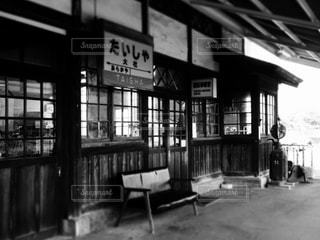 駅のホームの写真・画像素材[813225]