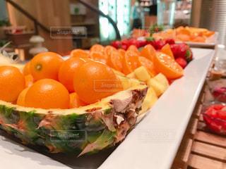 オレンジ,いちご,フルーツ,みかん,食べ放題,キンカン,パイン,フルーツビュッフェ