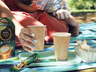 家族でピクニックの写真・画像素材[1276073]