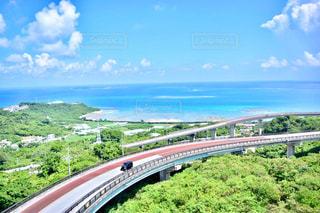 夏,沖縄,旅行,ニライ橋カナイ橋