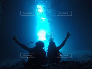海,沖縄,旅行,ダイビング,青の洞窟