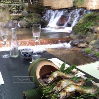 京都,納涼,川床,鮎料理,京都川床
