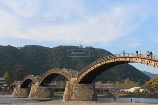 錦帯橋の写真・画像素材[1015371]
