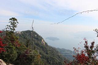 宮島弥山からの眺めの写真・画像素材[1403784]