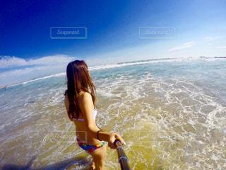 水遊びの写真・画像素材[660401]