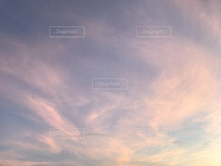 空に雲の群しをするの写真・画像素材[2437278]