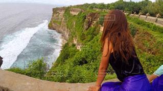 自然,風景,海,空,人物,寺院,海外旅行,バリ島,フォトジェニック,ウルワツ寺院