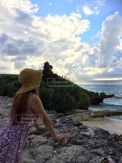 海,空,沖縄,beach,Sky