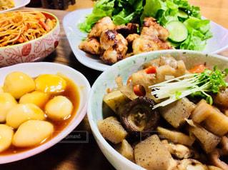 軽い晩御飯の写真・画像素材[788803]