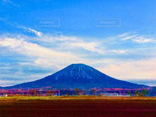 羊蹄山の写真・画像素材[884943]