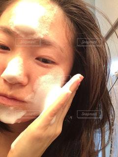 もこもこ洗顔の写真・画像素材[959540]