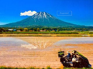 羊蹄山の写真・画像素材[1020312]