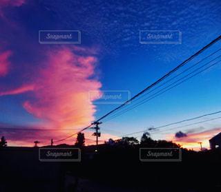 夕焼け雲の写真・画像素材[2415805]