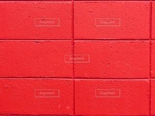 赤ブロックの写真・画像素材[3345105]