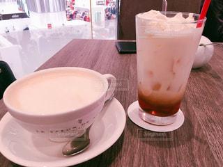 飲み物,カフェ,茶色,紅茶,cafe,ドリンク,ベージュ,ミルクティー,ミルクティー色