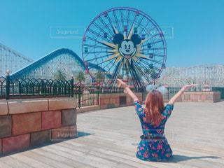 夏,アメリカ,ディズニー,カリフォルニア