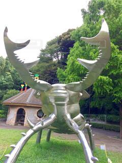 公園の銅像 - No.708889