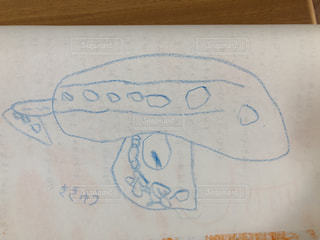 気球,アート,ペン,手書き,紙,おえかき,スケッチ,図面,4歳児,おうち時間,4歳児作成