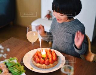 スイーツ,タルト,誕生日,おうちカフェ,手作り,誕生日ケーキ,手作りケーキ,タルトケーキ
