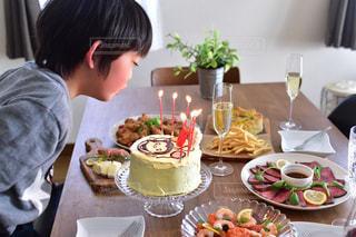 誕生日パーティーの写真・画像素材[1667718]