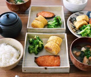 和朝食の写真・画像素材[2482346]