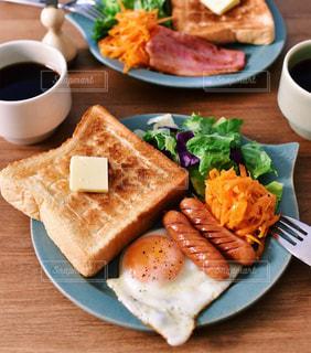ワンプレート朝食の写真・画像素材[2482350]