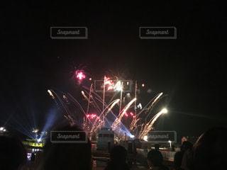 冬,夜景,クリスマス,シーパラ,冬の花火