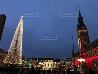 イルミネーション,クリスマス,ドイツ,クリスマスツリー,ハンブルク,市庁舎