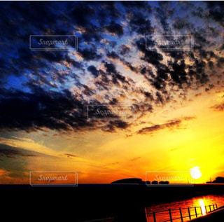 夕日のビューの写真・画像素材[966038]