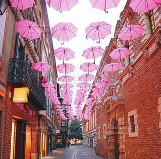 傘,ピンク,梅雨,フォトジェニック