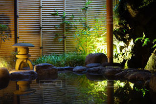 箱根温泉旅館にての写真・画像素材[758299]