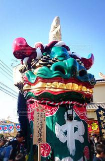 絶景,唐津くんち,唐津の曳山,11月2日と3日と4日,青獅子