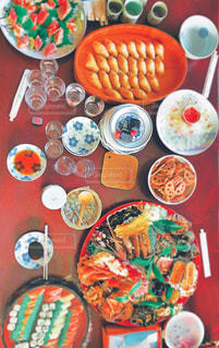 綺麗,おせち,正月,お寿司,テーブルフォト,美味しい,実家