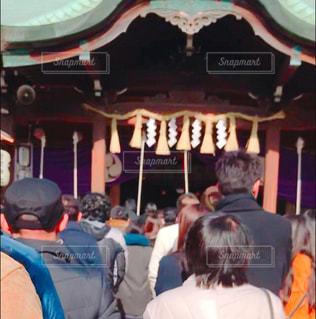 唐津神社の参拝客の写真・画像素材[968959]