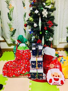 冬,プレゼント,キラキラ,クリスマス,ツリー,クリスマスツリー