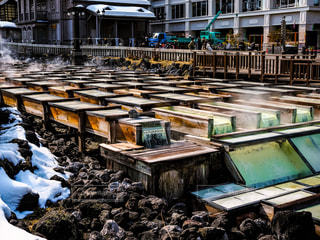 草津温泉の写真・画像素材[1026025]
