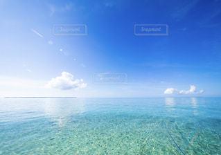 透明な海の写真・画像素材[2336657]