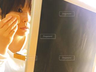 鏡の写真・画像素材[838943]