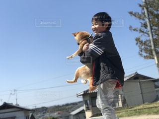 犬,わんこ,柴犬,男の子,お散歩,犬と子供,ワンチャン,小柴