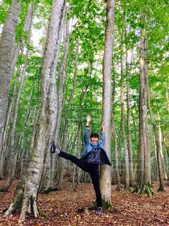 木になる人の写真・画像素材[789857]