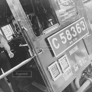 店の黒と白の写真の写真・画像素材[813847]