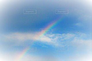 空の虹の写真・画像素材[2512793]