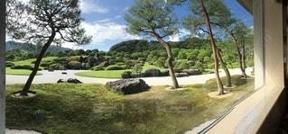 日本庭園,フィルム,パノラマ,足立美術館,フィルム写真,フィルムフォト