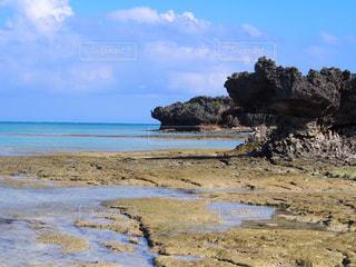 岩と海と青空 - No.1114372